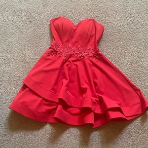 Fancy Red dress, Size 9/10